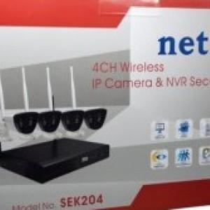 Camera IP Wireless + NVR